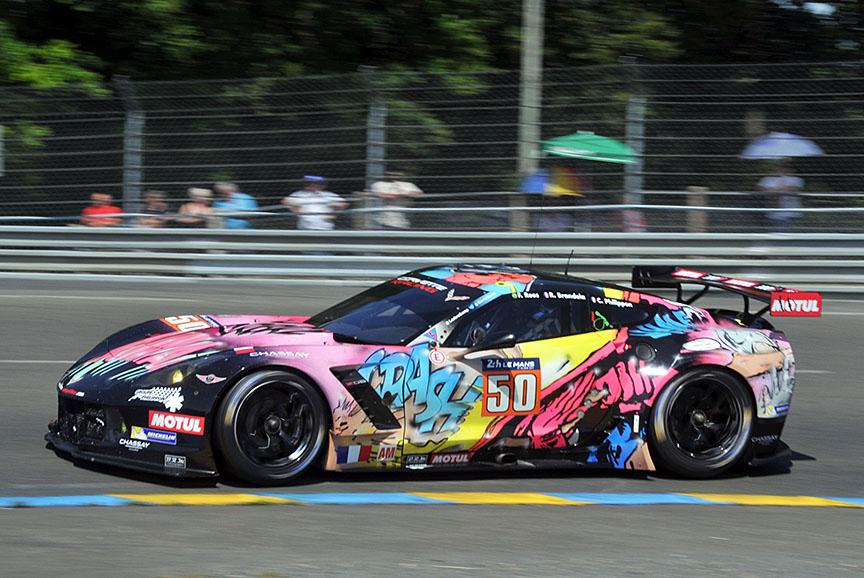 GTE-Amクラスが50号車 シボレーコルベット C7-Z06(フェルナンド・レス/ロマン・ブランデラ/クリスチャン・フィリッポン組)