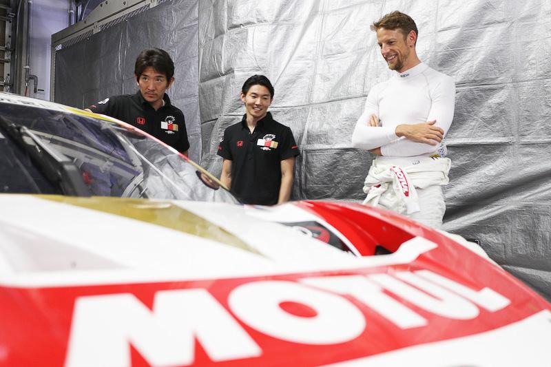 6月6日に鈴鹿サーキットで行なわれたSUPER GTタイヤテストのようす