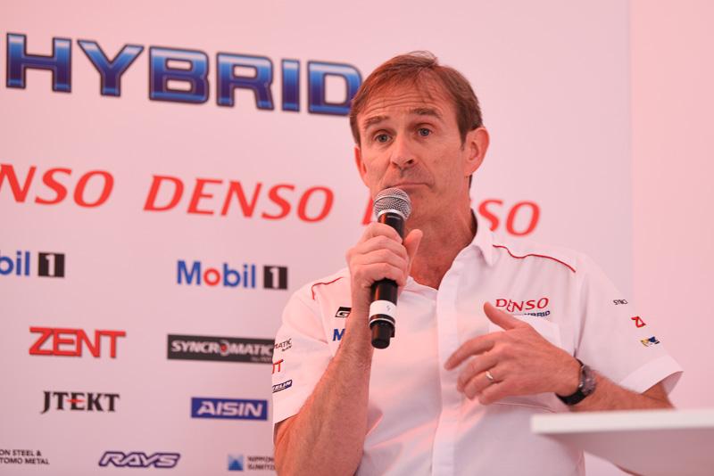 Toyota Motorsport GmbH テクニカルダイレクター パスカル・バスロン氏