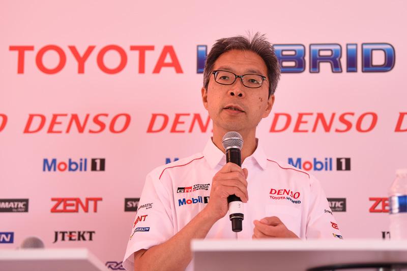 トヨタ自動車株式会社 TOYOTA GAZOO Racing代表 佐藤俊男氏