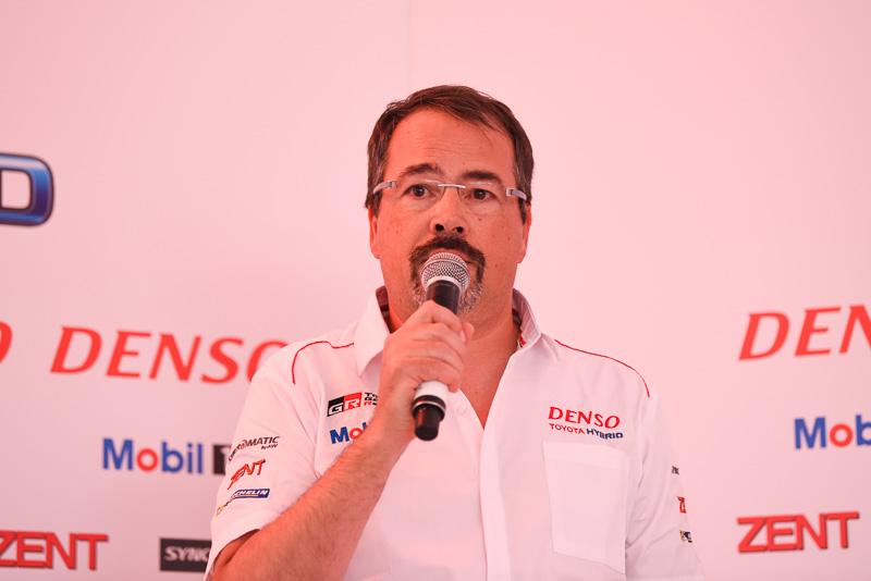 Toyota Motorsport GmbH 副社長 兼 ビジネスダイレクター ロブ・レウペン氏