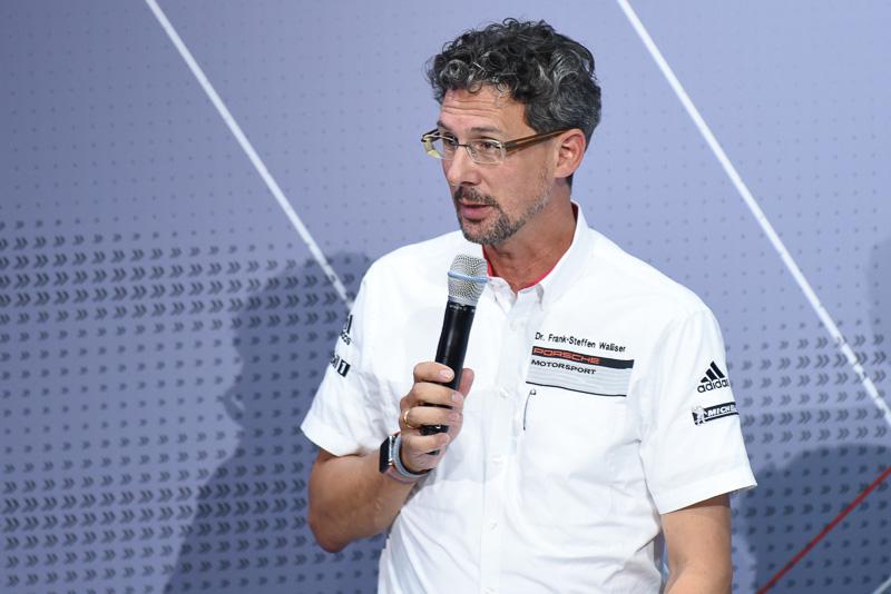 ポルシェ モータースポーツ/GTカー担当 副社長 フランク-ステファン・ワイズラー氏