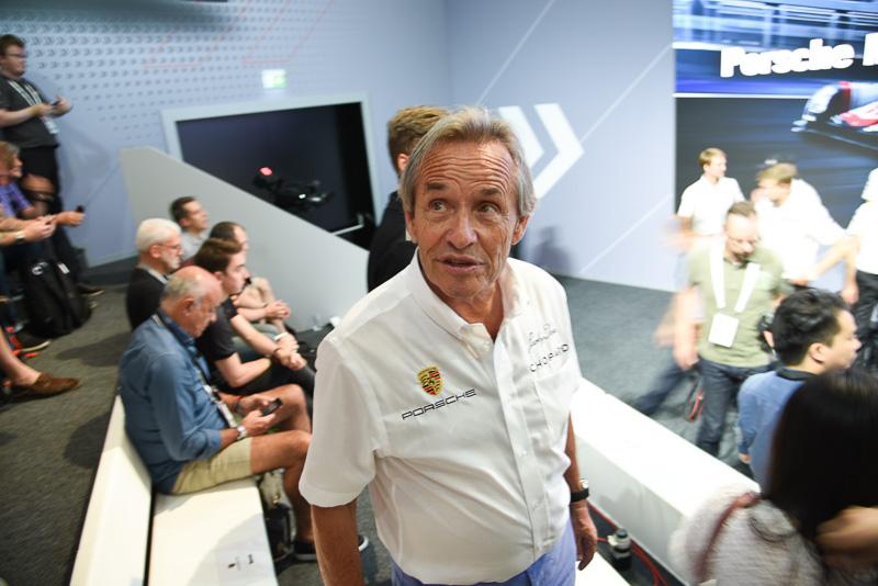 6度のル・マン24時間レース優勝者のジャッキー・イクス氏