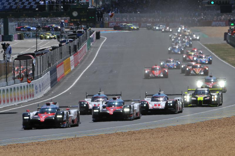 15時(現地時間)にル・マン24時間レースのスタートが切られた
