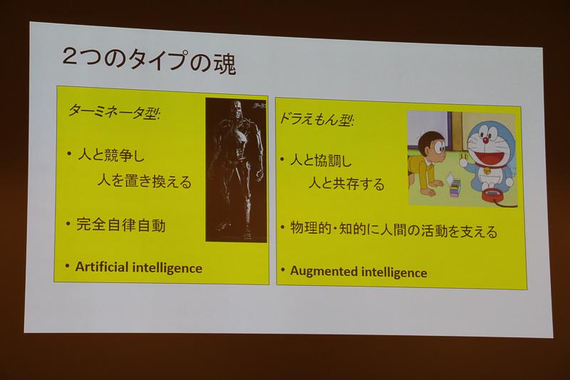 東京大学 名誉教授 池内克史氏の特別講演で紹介されたスライド。その意味とは!?
