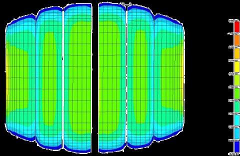 「マックスタッチ」。広い接地面を確保しながらも接地面圧が路面に均等にかかるように設計。タイヤ全体のブロックがしっかりと氷をとらえ路面に密着するため高いアイスグリップ性能、アイストラクション性能を発揮。さらにブロックが均等の圧力で接地することで偏摩耗を抑制し、初期性能が長期にわたり持続する