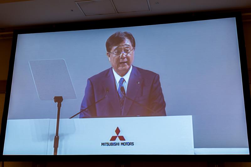三菱自動車工業株式会社 取締役社長CEO 益子修氏