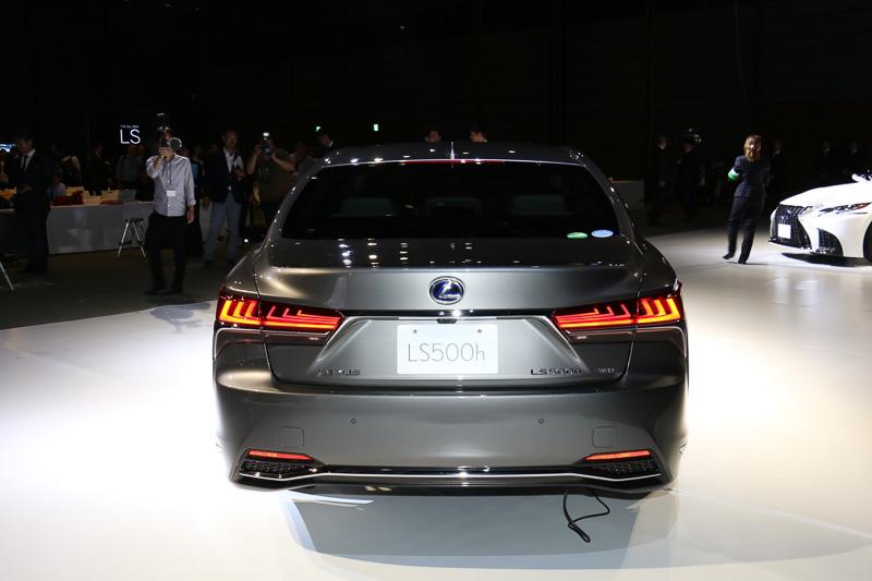 新型「LS500h」