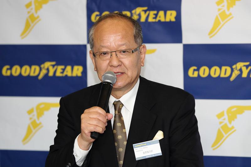 日本グッドイヤー株式会社 代表取締役社長 金原雄次郎氏