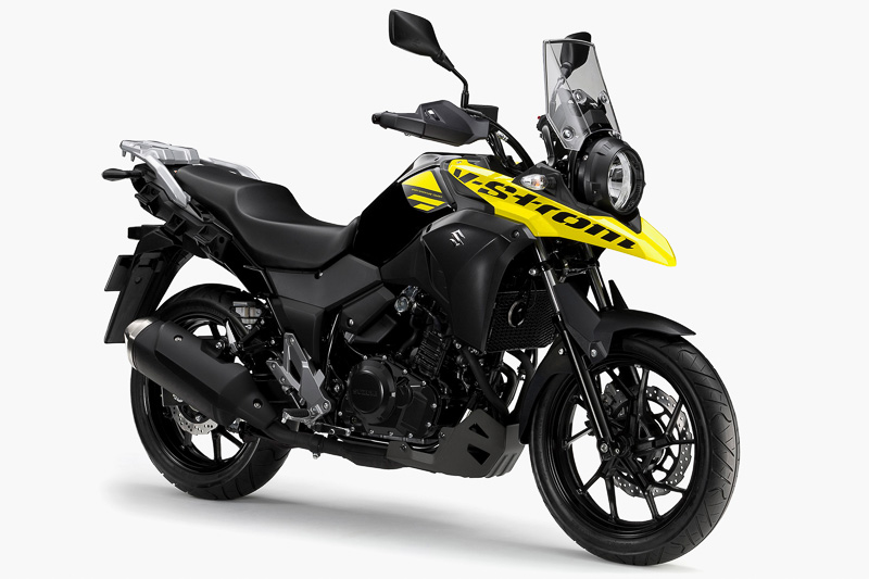 250ccクラスの新型スポーツアドベンチャーツアラー「V-Strom 250」