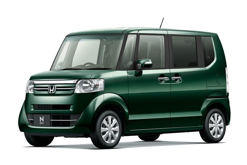 16カ月連続で軽自動車車名別販売台数トップの本田技研工業「N-BOX」