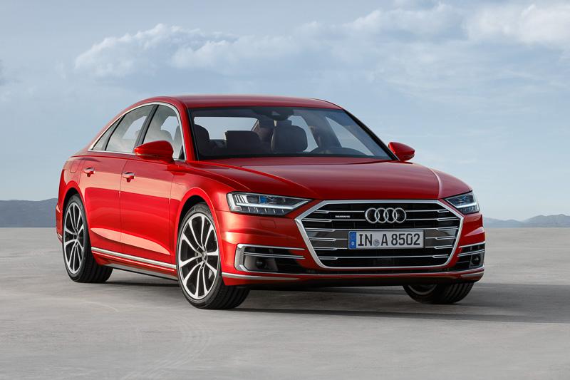 2017年晩秋にドイツから販売が開始される新型「A8」