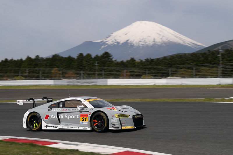 SUPER GT GT300クラスに参戦する21号車 Hitotsuyama Audi R8 LMS