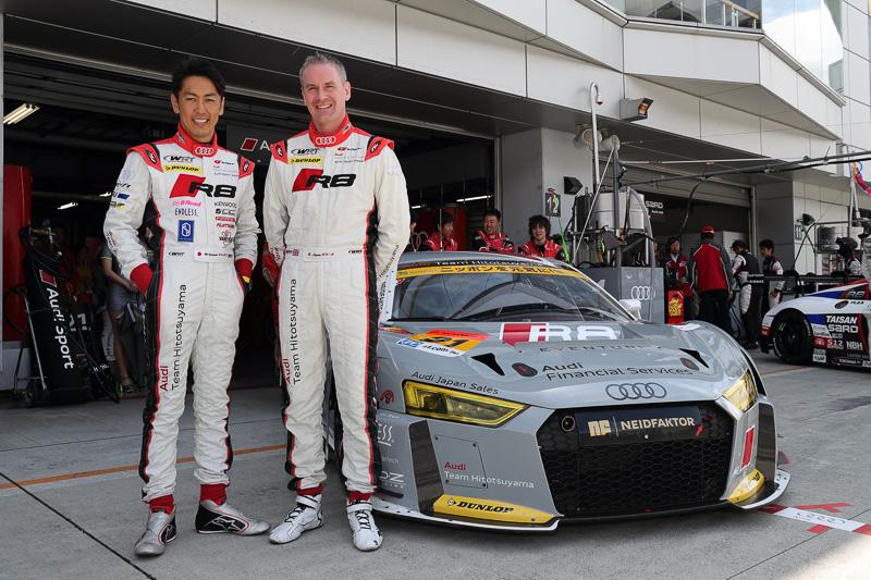 21号車のドライバーを努める、柳田真孝選手(左)、リチャード・ライアン選手(右)