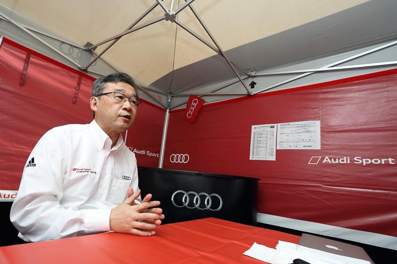 SUPER GT 第2戦富士で、アウディ ジャパン 代表取締役社長 齋藤徹氏にアウディのSUPER GT参戦について聞いてみた