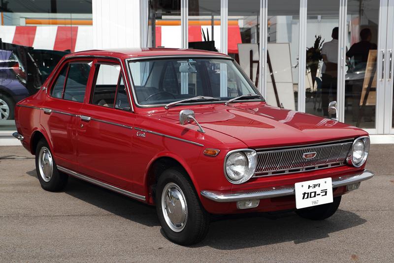 トヨタカローラ富山の有志がレストアした初代カローラ(1967年式 KE10-F型)
