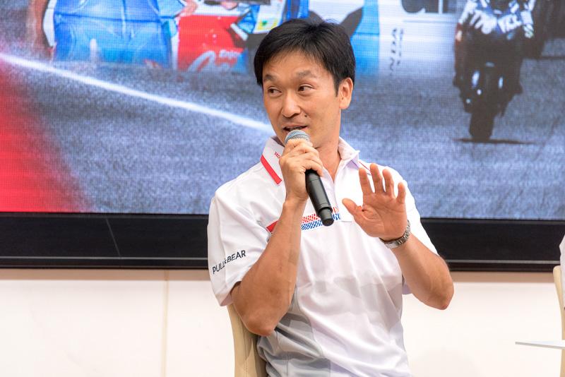 鈴鹿8耐で過去最多の5度の優勝を収めたホンダ・レーシング 宇川徹氏