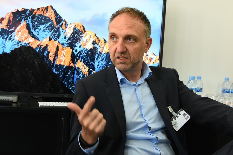 新型「A8」の自動運転機能の開発に携わるアウディ 自動運転開発責任者 アレハンドロ・ヴコティヒ氏