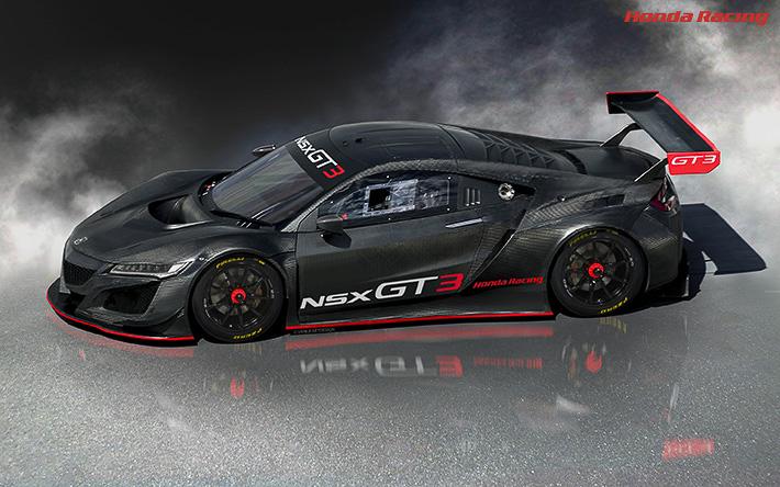 「NSX」をベースにしたレース専用車両「NSX GT3」
