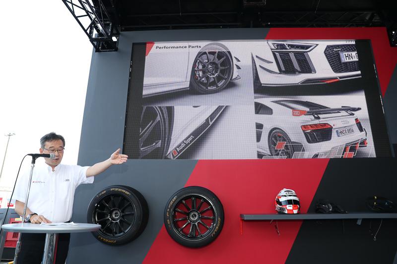 Audi Sport performance partsについて紹介