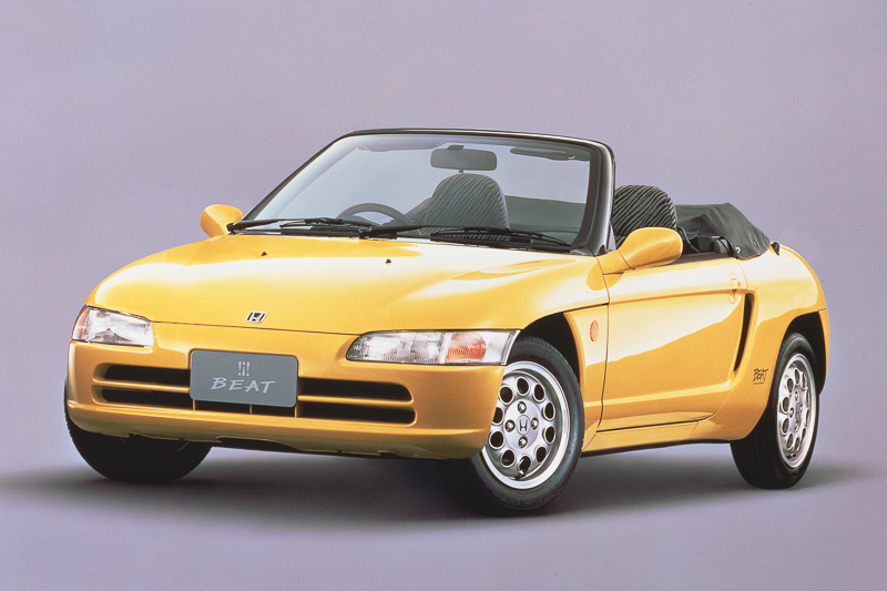 1991年5月に発売した軽乗用車「ビート」
