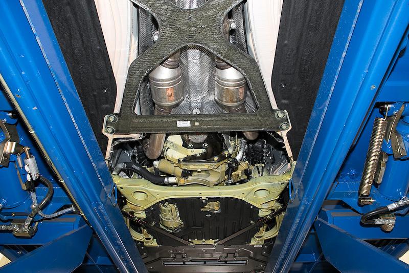 メルセデスAMG GT Rの下まわり