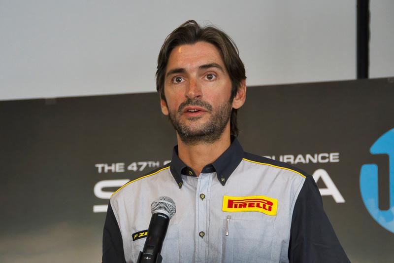 PIRELLIモータースポーツ、モータースポーツビジネス担当取締役 エルネスト・ガルシア・ドミンゴ氏