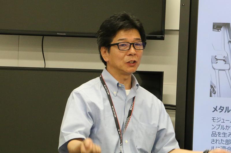 アディエント合同会社 チーフエンジニアの毛利隆之氏