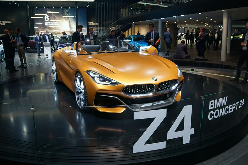 フランクフルトモーターショーに展示されていたBMW Concept Z4