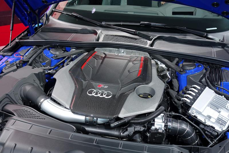 2.9 TFSI V6ツインターボエンジン