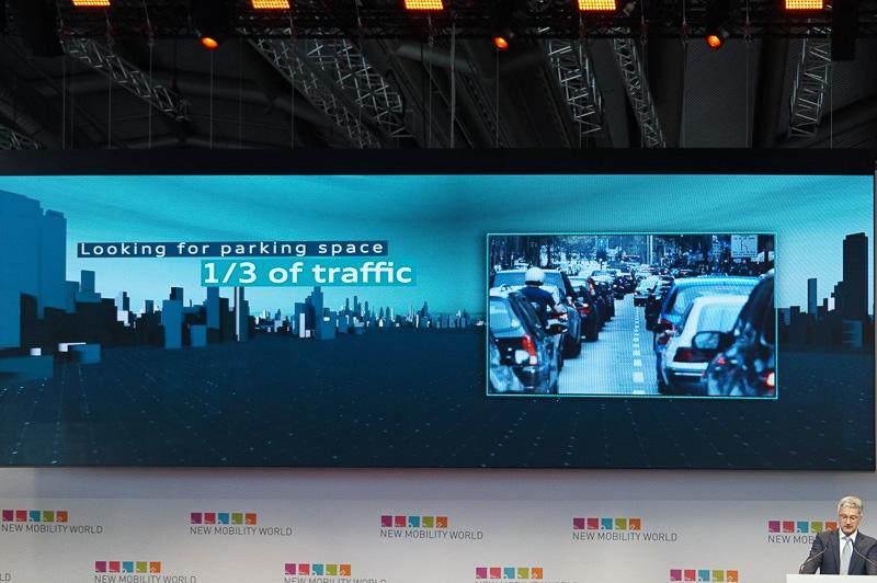渋滞の1/3は駐車場を探したり、違法駐車