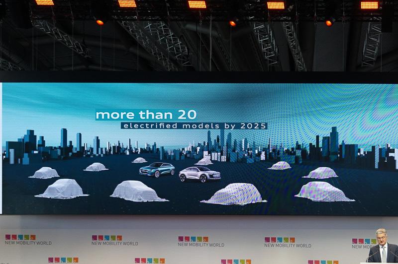 2025年の20車種以上の電動化車両を投入
