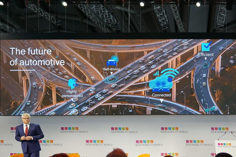 Qualcommのプレゼンテーションで示された自動車の未来