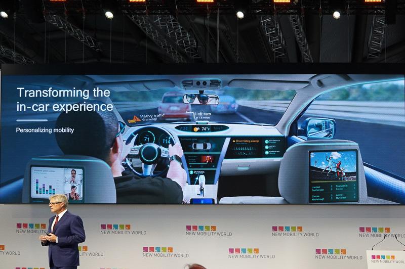 自動車内のユーザー体験も変わりつつある