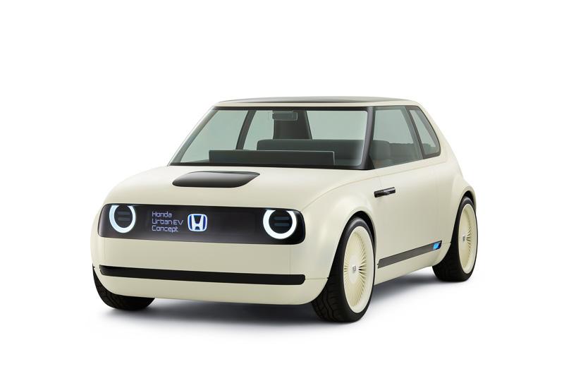 9月のフランクフルトショー 2017で世界初公開されたHonda Urban EV Concept(日本初公開)