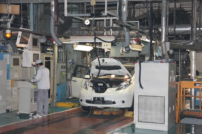 車両製造の生産ライン(参考画像)