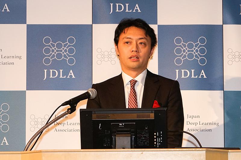 理事長に就任する東京大学大学院工学系研究科 特任准教授 松尾豊氏