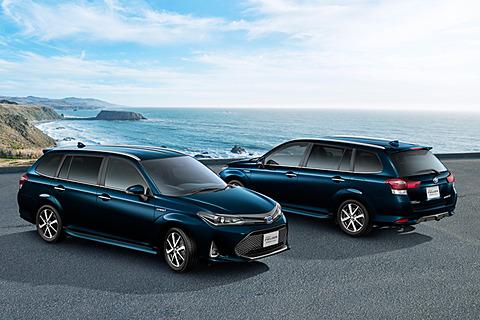 トヨタ、「カローラ フィールダー」「カローラ アクシオ」にパーキングサポートブレーキを新設定 カローラ フィールダー