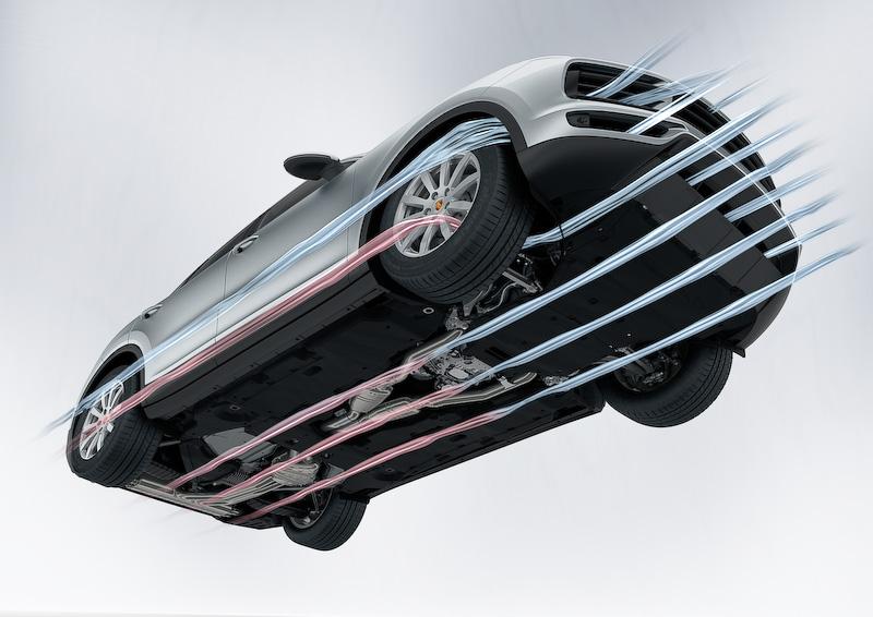 「アクティブクーリングエアフラップ」は新型カイエンの全グレードに標準装備