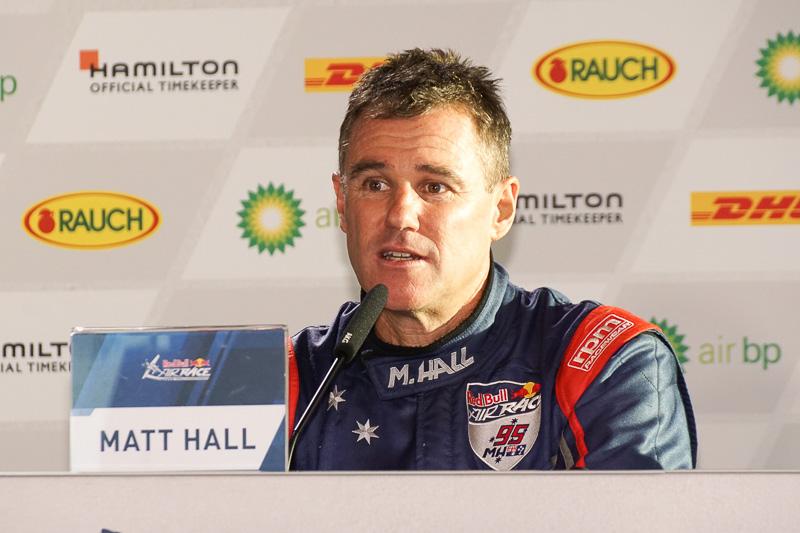 マット・ホール選手