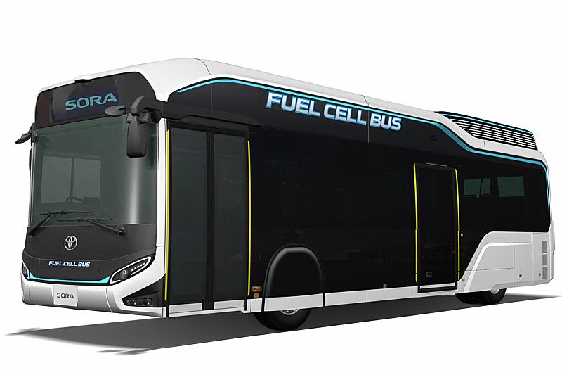 FCバスのコンセプトモデル「SORA」
