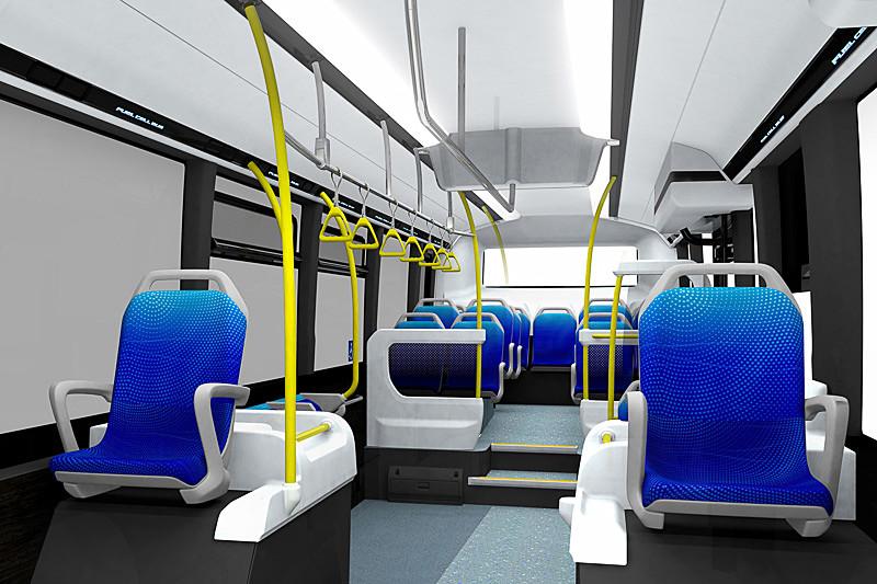 コンセプトモデルSORAの乗車スペース
