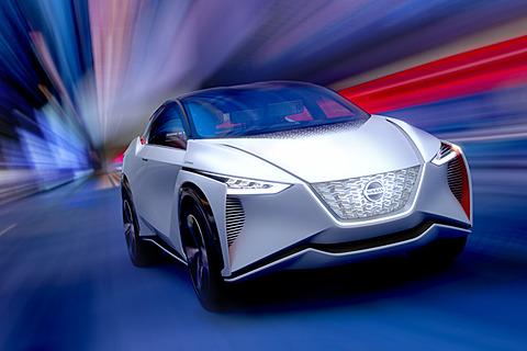 【東京モーターショー2017】日産、「GT-R」を超えるトルク700Nmのツインモーター4WD採用EVコンセプト「Nissan IMx」 クロスオーバーEVコンセプト「Nissan IMx」