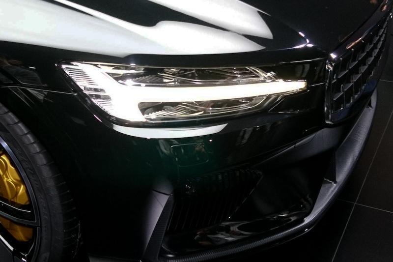 2+2シーターのクーペモデルとなるポールスター 1。2019年中ごろに生産を開始する予定
