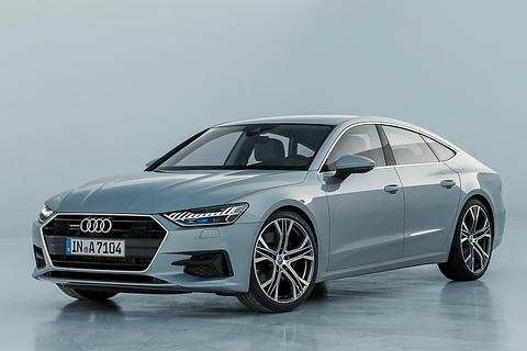 独アウディ、マイルドハイブリッドや「Audi AI」搭載の新型4ドアクーペ「A7 スポーツバック」 新型「A7 スポーツバック」