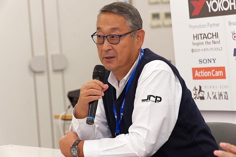 株式会社日本レースプロモーション 技術顧問 白井裕氏