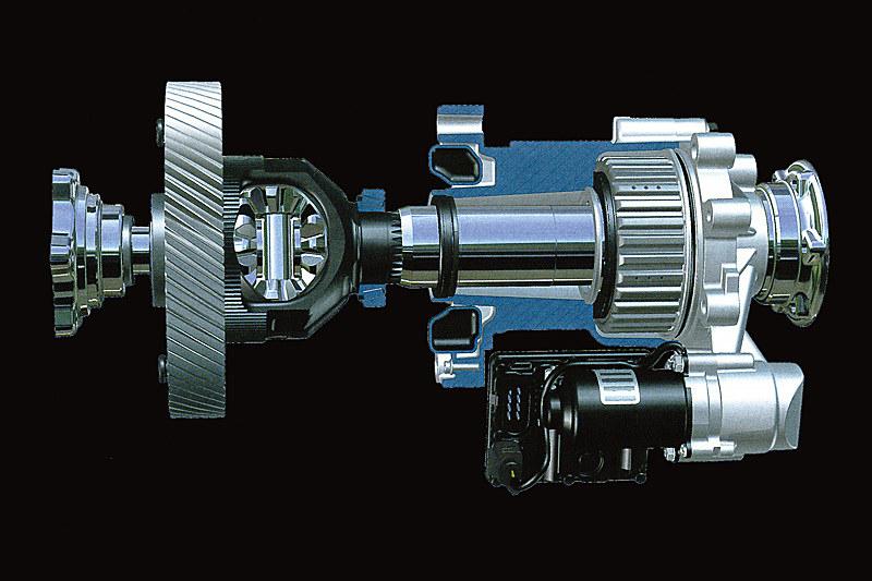 電子制御油圧式フロントディファレンシャルロックのイメージ
