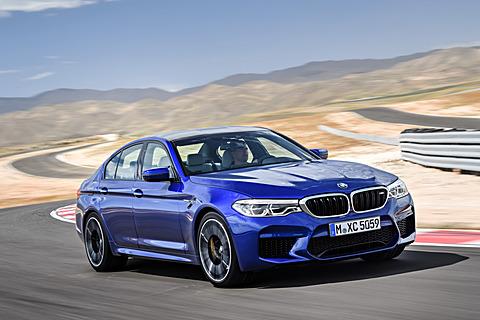 BMW、600PS/750NmのV8ツインパワーターボ+4WDで0-100km/h加速3.4秒の新型「M5」 6代目となる新型「M5」