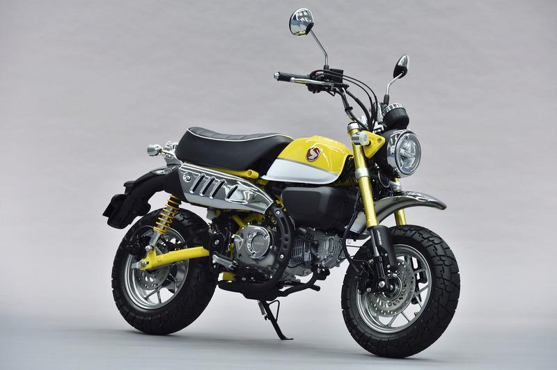 コンセプトモデルの「Monkey 125」