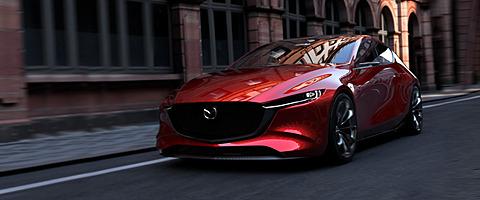【東京モーターショー2017】マツダ、コンセプトモデル「魁 CONCEPT」「VISION COUPE」を世界初公開。魁 CONCEPTはSKYACTIV-Xを採用 次世代ガソリンエンジン「SKYACTIV-X」搭載車となる「マツダ 魁 CONCEPT」